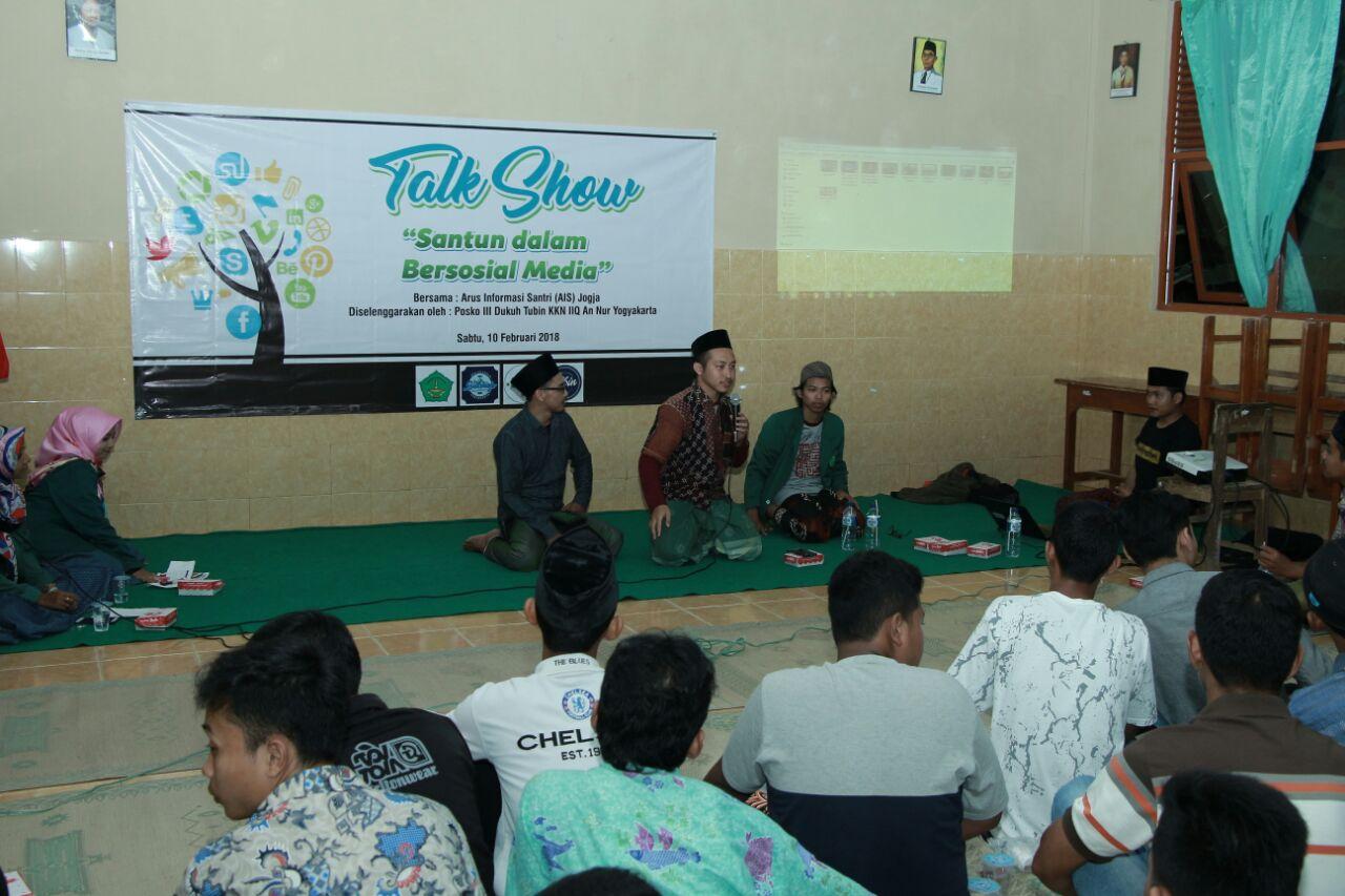 Talk Show: Santun dalam Bersosial Media