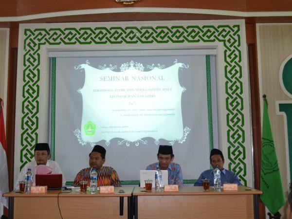 Fakultas Ushuluddin Gelar Seminar untuk Hidupkan Tradisi Akademisi