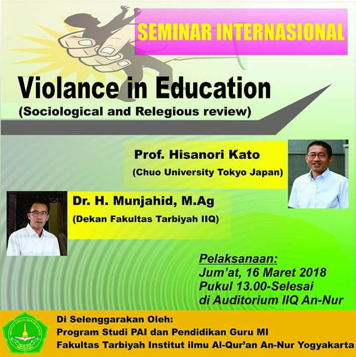 VIOLANCE IN EDUCATION (Sociological and Religious Review)