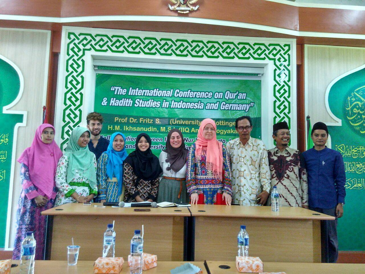 Mahasiswa Jerman Belajar Ke IIQ An-Nur Yogyakarta