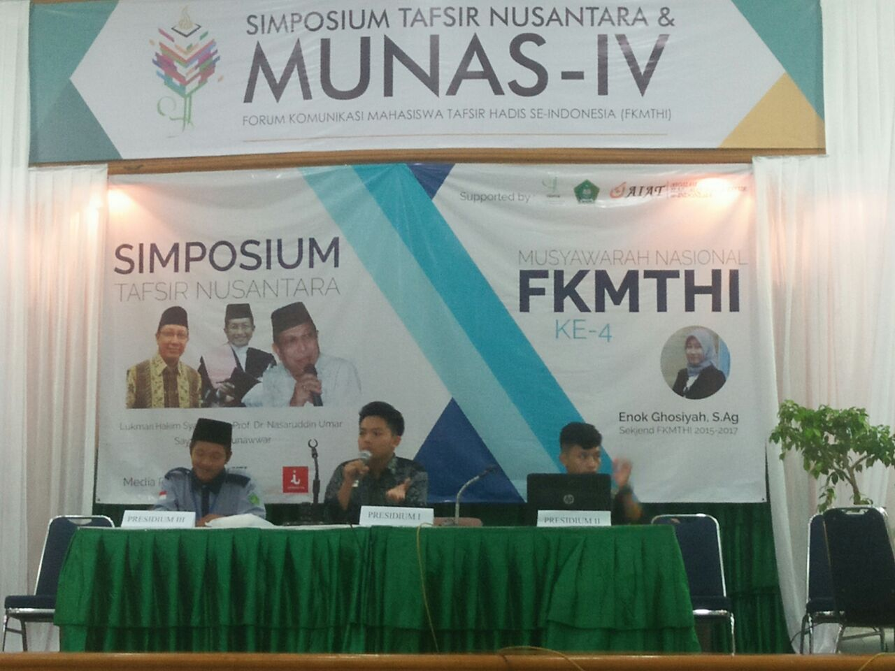Mahasiswa IIQ Hadiri MUNAS IV FKMTHI di Jakarta