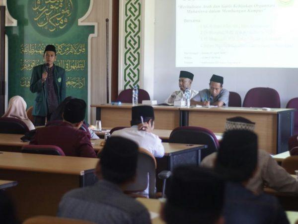 Tumbuhkan Semangat Baru Organisasi Kemahasiswaan di IIQ An-Nur Yogyakarta