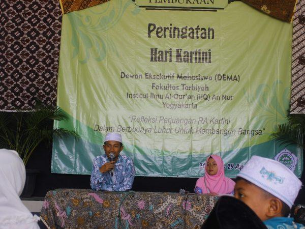 DEMA Fakultas Tarbiyah Gelar Acara Pembukaan Peringatan Hari Kartini