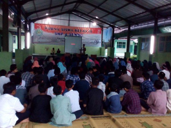 Korps Dakwah Jalin silaturahim dengan SMPN 4  Sewon Bantul Yogyakarta