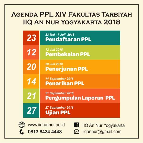 Agenda PPL Angkatan XIV 2018