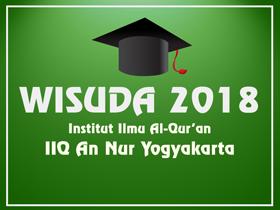 Info Wisuda Angkatan ke 10 Tahun 2018