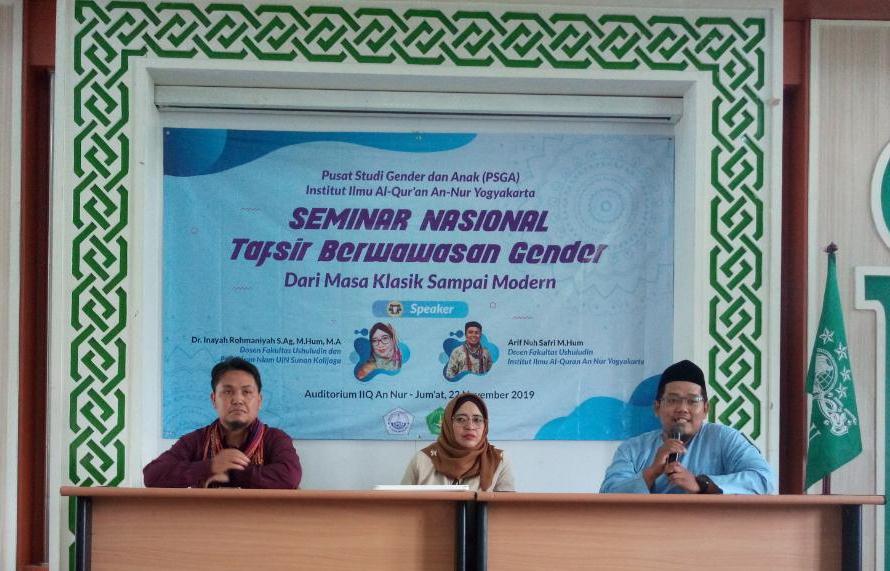 PSGA IIQ An Nur Gelar Seminar Nasional Kajian Gender
