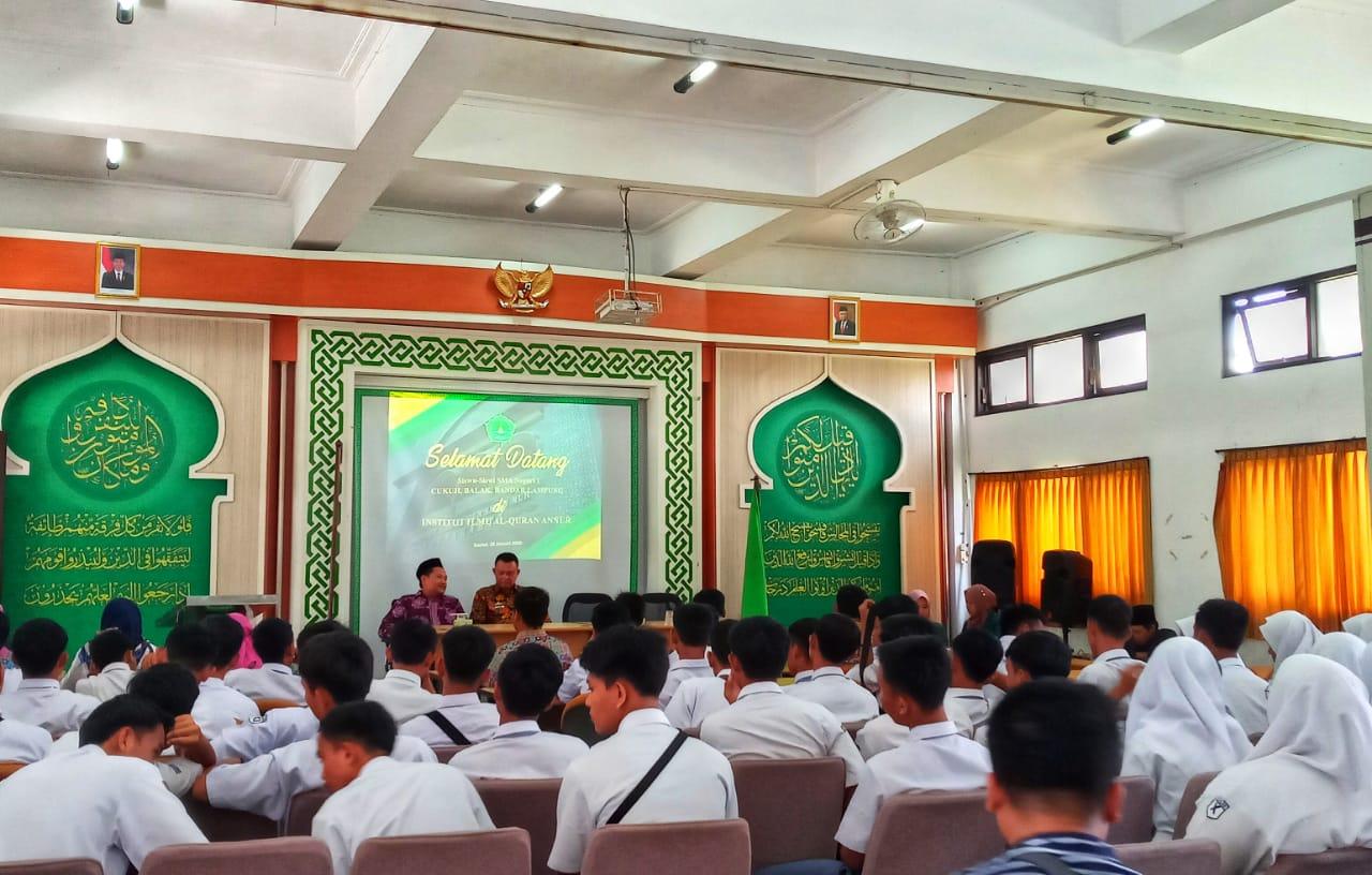 Kunjungan Study Tour SMA Negeri 1 Cukuh Balak Tanggamus Lampung