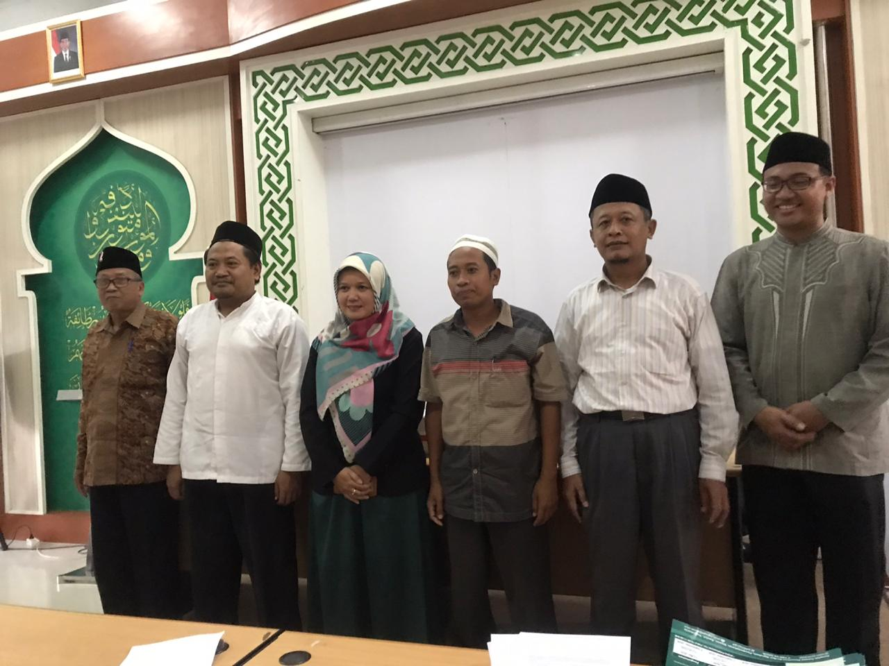 LPMP Menganugerahkan Penghargaan Dosen Terbaik IIQ TA. 2019-2020