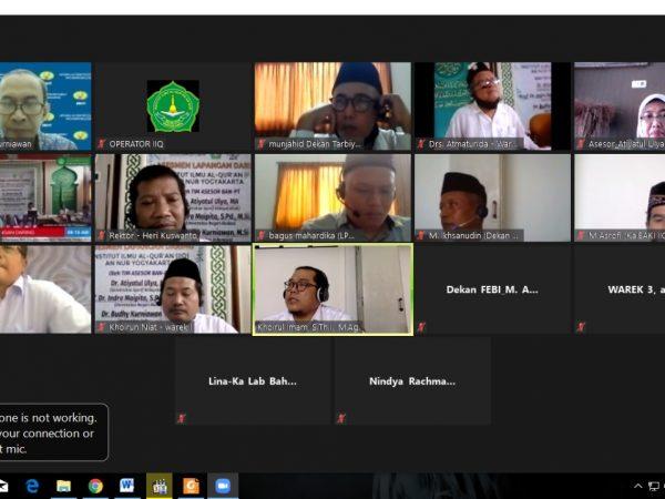 Asesmen Lapangan Akreditasi IIQ An Nur Yogyakarta 2021 oleh BAN-PT