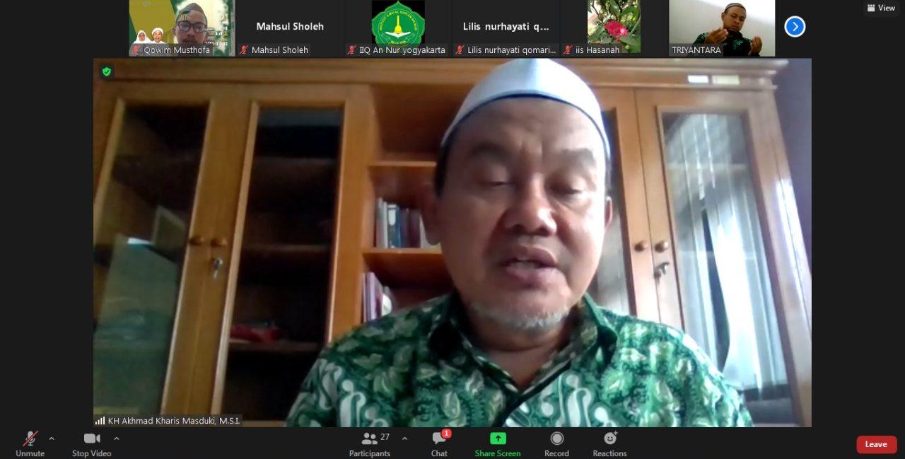 IIQ An Nur Usai Gelar Acara Tahlil dan Takhtim Muqoddaman dalam Rangka Haul KH.Nawawi Abdul Aziz dan Ny. Hj. Walidah Moenawwir