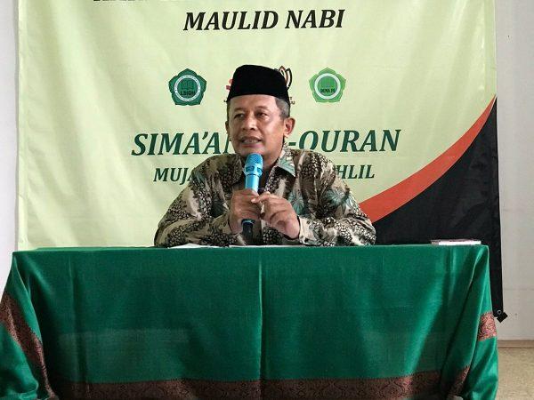 Peringatan Maulid Nabi Saw dan Hari Santri Nasional Fak. Ushuludin Mengadakan Simaan Al-Quran